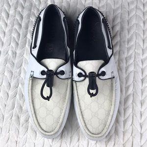 Gucci Rare Napa Moorea Leather Loafers NWOT